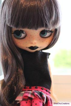 OOAK Custom Blythe Doll  'Lillian'  by ShelsTinyCreations on Etsy
