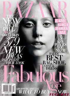 Lady Gaga. Harper's Bazaar October 2011