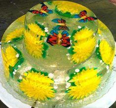 como hacer o preparar gelatinas artísticas