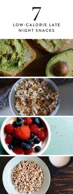 7 Low-Calorie Late-Night Snacks That Won't Ruin Your Waistline via @PureWow