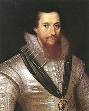 .Robert Devereux, 2nd Earl of Essex by Marcus Gheeraerts the younger.  The earl was one of the numerous descendants of Elizabeth Woodville and Sir John Grey; his great grandmother was Lady Mary Grey.