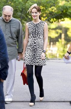 How To Style A Leopard Dress