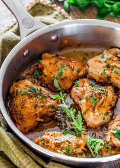 Really nice recipes. Every hour. • CHICKEN IN GARLIC AND HERB SAUCE Really nice...