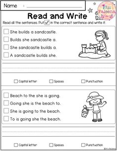This Product has 20 pages of reading and writing practice. This product is great for Kindergarten or first graders. It helps to teach children in reading and writing in many ways. You can use as a classroom activities, morning work, word work and literacy centers. Kindergarten | Kindergarten Worksheets | First Grade | First Grade Worksheets | Reading| Writing | August Reading and Writing Practice | Reading and Writing Literacy Centers | Printables| Morning Work | Worksheets