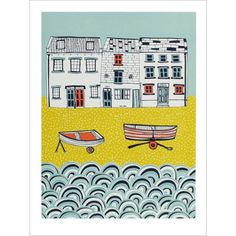 Life by The Sea de Jessica Hogarth sur Slap Boutique