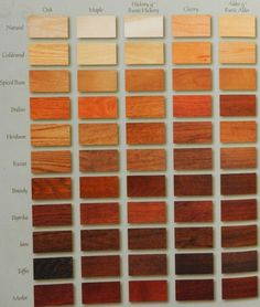 cherry wood stain options - google search | cherry wood stains
