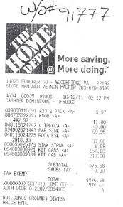 Home Depot Receipt Generator : depot, receipt, generator, IMAGES, DEPOT, RECEIPTS, Google, Search, Depot,, Receipts,, Image