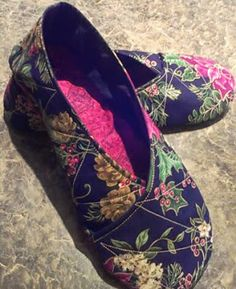 Quilt, Knit, Run, Sew: Make your own Kimono Slippers