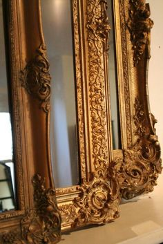 French Boutique...Heavy Framed Mirrors