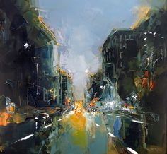 Traffic on 8th Ave. by Daniel Castan.