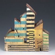recycled building/blocks Barry Rhodes
