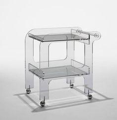 Shiro Kuramata designed Plastic wagon 1968