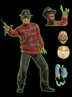 A Nightmare on Elm Street Action Figure: 30th Anniversary Ultimate Freddy