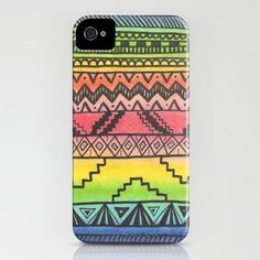Tribal iPhone Case by haleyivers Cool Technology, Cute Cases, Tribal Fashion, Couture, Tribal Prints, Just In Case, Crochet, Iphone Cases, 5s Cases
