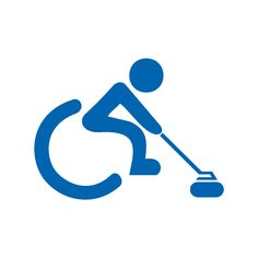 Wheelchair curling, wheelchair curling, Nordic Skiing, Alpine Skiing, Slalom Skiing, Ski Racing, Ski Touring, Ski Jumping, Ski Lift, How To Make Snow, Pictogram