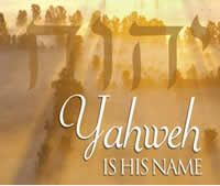 Yahweh is His Name, because He said it was:  again and again in scripture.