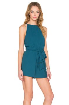 4a840451b75 The Fifth Label Applied Imagination Romper in Teal