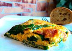 Spenótos omlett recept foto Spanakopita, Pcos, Quiche, Sushi, Vegan, Breakfast, Ethnic Recipes, Vegans, Custard Tart