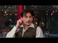 Johnny Depp on David Letterman - April 3rd 2014 -  Full Interview