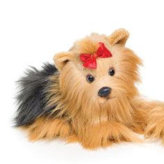 Nat and Jules Plush Toy, Yorkshire Terrier.  Get Yours Today! - LoveMyYorkie