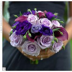 01152012 – Purple Bridesmaid Bouquet