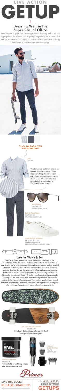 The Getup: Dressing Well in the Super Casual Office - Men's Style