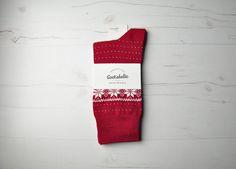 Alaska  #socks #winter #red #calcetines