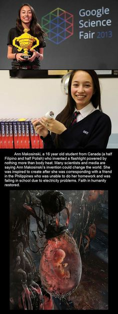 Ann Makosinski was just another teenager with another science project when she joined her local science fair in Victoria, Canada, last year. Her invention, a flashlight that is powered solely from hand heat, took second place at the competition.