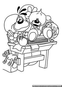 1000 images about coloriages enfants on pinterest - Diddle dessin ...