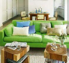 Sofá verde ♡