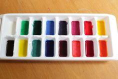 ¡A PINTAR! 6 recetas de pintura casera   Blog de BabyCenter