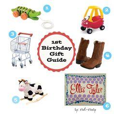1st Birthday Gift Guide