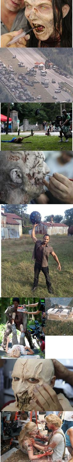 The Walking Dead behind-the-scenes