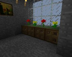 Here is a great decoration foreitherin interior or exterior of your house/office. Note: To have a grassy top in survival, you will need to grow it by first attaching your block to an existing gra...
