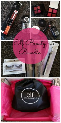 #Elf beauty bundle review. Come take a peek! $40.00 worth of full size beauty products for $19.99. #makeup,#beauty