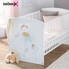 Moma, Cribs, Toddler Bed, Trends, Furniture, Home Decor, Cots, Child Bed, Bassinet
