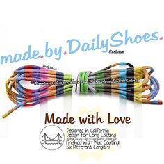 DailyShoes Round Waxed Shoelaces Oxford Flat Dress Canvas Shoe Laces (One Pair) * Learn more by visiting the image link.