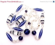 Spring Sale Czech Glass Flapper Bead by TheJewelryLadysStore, $112.00