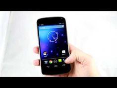 Nexus 4 en vidéo : joie