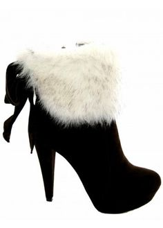 Desirable | Desirable Boots | Faux Fur Ankle Boots