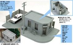 Police Station Diorama  1/64  Tomica