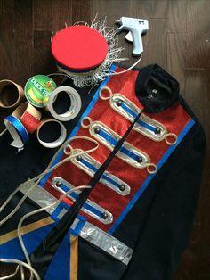 #DIY NUTCRACKER COSTUME ON MILITARY JACKET BLAZER http://allenationblog.blogspot.ca/2015/03/diy-project-nutcracker-costume.html