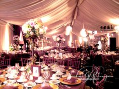 Wedding Tents | Wedding Decoration | Toronto  //////////////              Vietnamese/English wedding invitation @ www.ThiepCuoiCali.com             //////////////