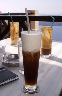Freddo cappuccino...  With what you can compare an iced cappuccino during summer?