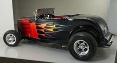 Hot Rod Flames | 1932 Ford Hot Rod Custom Flame Job.