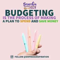Many people do not realize that they spend more than they earn and slowly sink deeper into debt per annum. Once you create your first budget, begin to use it, and obtain an honest pity and figure out how to keep your finances on target. The Boracchia Wiviott Wealth Partners experience, through our financial planning masterclass & our Custom Financial Plans are a complete package to manage your personal finance. For the latest News & Financial Tips follow us on Instagram: @EmpressInspiration Financial Planner, Financial Tips, Smart Strategy, Make A Plan, Wealth Management, Debt, Personal Finance, Budgeting, Investing