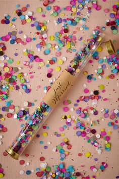 Three Cheers Confetti Wands! #fun #colourful