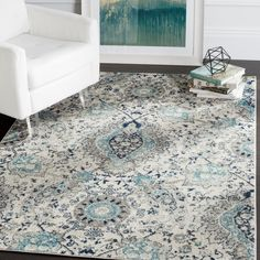 Want to craft a new look in one of your rooms? Simply switch out your rug to set a fresh foundation. For a cottage-chic-inspired display, try this stylish design. A charming twist on classic designs, it showcases an Oriental rug style motif with an intricated floral pattern with paisley and medallion accents. Try rolling it out in your living room or let it anchor your master suite ensemble.