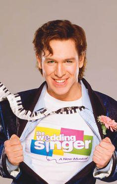 Stephen Lynch as Robbie in The Wedding Singer on Broadway!