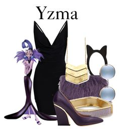 """""""Yzma"""" by disneyandsuch ❤ liked on Polyvore featuring Forever 21, House of Holland, BillyTheTree, Chloé, disney, theemperorsnewgroove and WhereIsMySuperSuit"""
